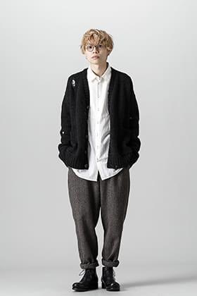 UMA WANG 21-22 AW Grand Knit Cardigan Style
