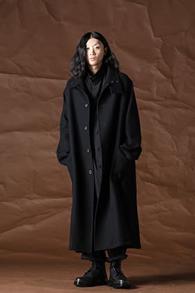 Yohji Yamamoto 21-22AW Wool flannel coat style
