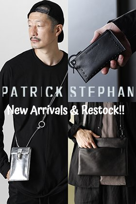 Now in stock is a new item from PATRICK STEPHAN.