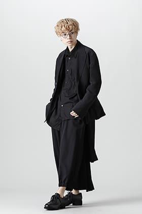 Yohji Yamamoto 21-22AW 異素材レイヤードスタイル
