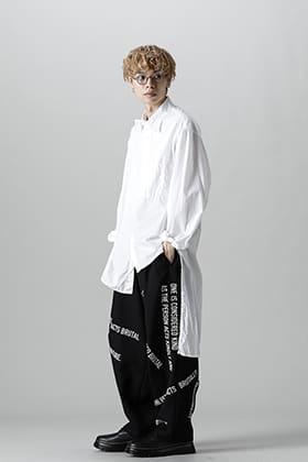 Yohji Yamamoto 21-22 AW Chain Stitch Blouse Style