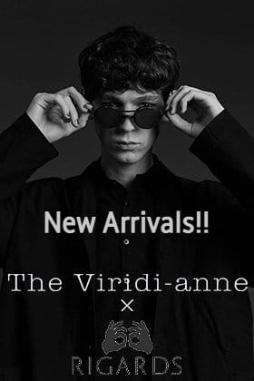 Now in stock are standard collaboration sunglasses from The Viridi-anne x RIGARDS.