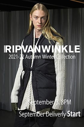 RIPVANWINKLE 21AW (Autumn/Winter) Collection September Delivery is now available!