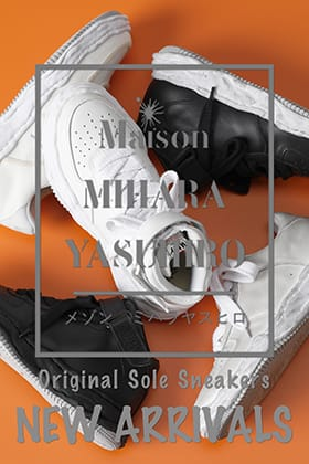 New original sole sneakers from Maison MIHARAYASUHIRO 2021 -22 AW are now in stock!
