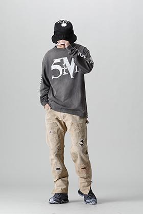 SAINT MICHAEL 2021-21 Autumn/Winter STMYES Long Sleeve T-Shirt Style