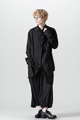 Yohji Yamamoto 21-22AW Irregular Collar Blouse Style