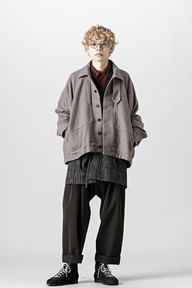 JAN-JAN VAN ESSCHE 21-22 AW 3 Layers Yak Wool Jacket Style