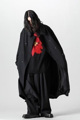 Yohji Yamamoto 21-22 AW Sten-collar Big Coat Style