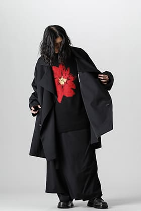 Yohji Yamamoto 21-22 AW Wool Gabardine Setup Style