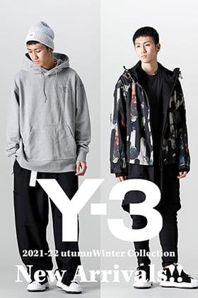 Y-3 2021-22秋冬コレクションが入荷!本日より店頭・通販共に販売開始!
