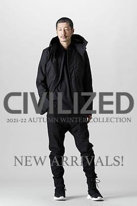 CIVILIZED(シヴィライズド) より新作アイテム第3弾が入荷しました!