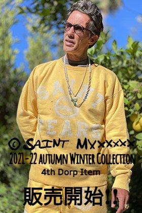 只今より SAINT MICHAEL(セントマイケル) 2021-22秋冬コレクション 4th Dropアイテムを通販・店舗にて同時販売開始!!