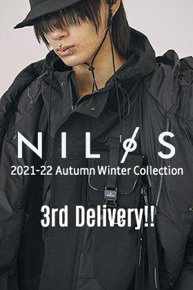 NILøS 2021-22秋冬コレクションより第3弾目の入荷がありました!