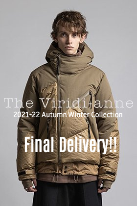 The Viridi-anne 2021-22 fall-winter collection is now in stock for the last time in this season.