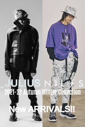JULIUS & NILøS 2021-22秋冬コレクションより新作が入荷しました!