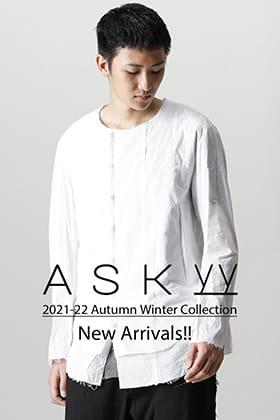 ASKyy(アスキー)より2021-22秋冬コレクションのデリバリーがございました!