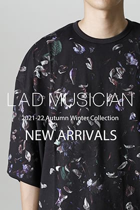 Now in stock is a new item from the LAD MUSICIAN 2021-22 AW collection.