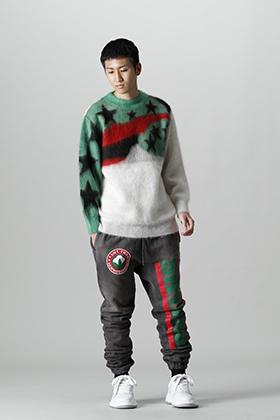 SAINT MICHAEL x DENIM TEARS Collaborative Mohair Knit Style