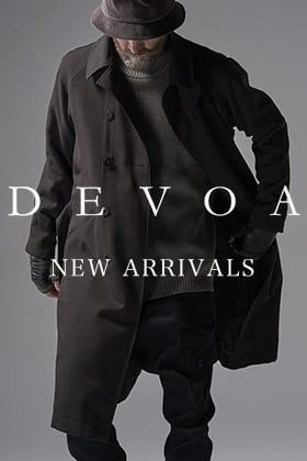 New Arrivals from DEVOA 21-22AW Collection!