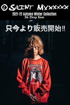 只今より SAINT MICHAEL(セントマイケル) 2021-22秋冬コレクション 5th Dropアイテムを通販・店舗にて同時販売開始!!