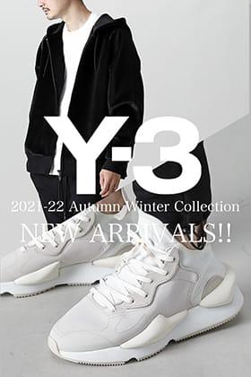 Y-3(ワイスリー) 2021-22秋冬コレクションより第4弾が到着しました!