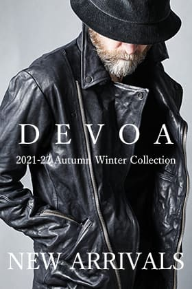 DEVOA GUIDI leather double riders jacket is now in stock!