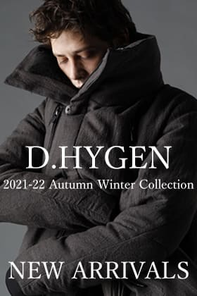 D.HYGEN 21-22AW A.F ARTEFACT Outerwear items including collaboration items are now in stock!!