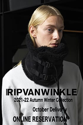 We are now accepting pre-orders for RIPVANWINKLE 2021 -22 AW Collection October delivery!