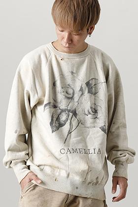 SAINT MICHAEL x INNOCENCE NY 2021-22AW「Camelia Raglan Sleeve Sweat」styling