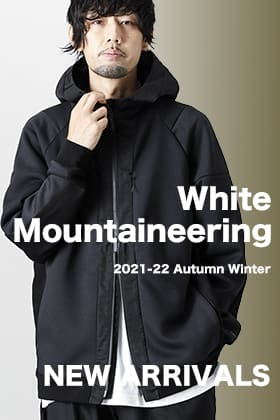 New item from White Mountaineering 2021-22 AW is now in stock!