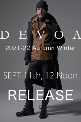 DEVOA 2021-22 AW Collection will be on sale September 11th at 12 noon!