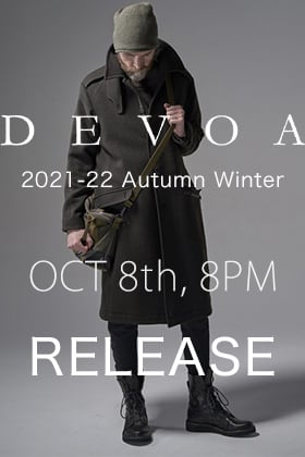 DEVOA 2021-22 AW Collection will be on sale October 8th at 8PM!