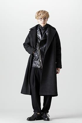 DEVOA 21-22 AW Coat x Rider Sleeve Jacket Styling