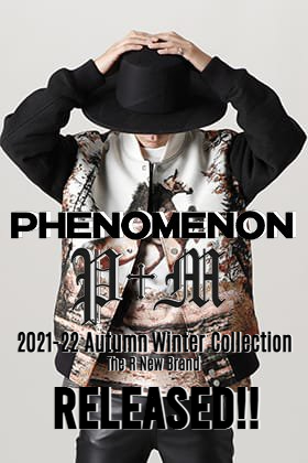 From now, the new brand PHENOMENON is available! PHENOMENON is newly available in The R.