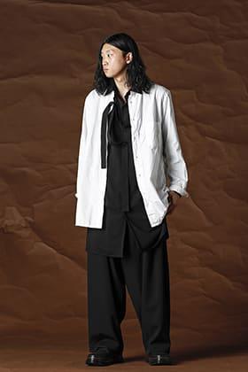 Yohji Yamamoto 21-22AW Blouse Layered Style