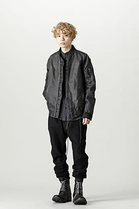 D.HYGEN x AF ARTEFACT Leather Jacket Style