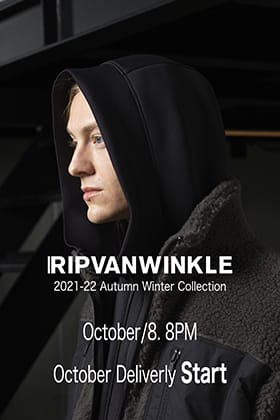 RIPVANWINKLE 21AW (Autumn/Winter) Collection October Delivery is now available!