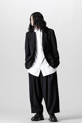 Yohji Yamamoto 21-22 AW Front Double Flush Jacket Style