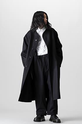 Yohji Yamamoto 21-22AW アーミー メルトンコートスタイル