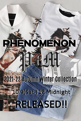 Tomorrow October 9 (Sat) The R new brand PHENOMENON will be available!