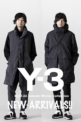 Y-3(ワイスリー) 2021-22秋冬コレクションより第5弾が到着しました!
