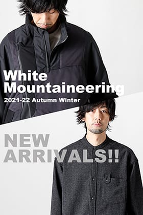 New item from White Mountaineering 2021-22 AW is now in stock!!