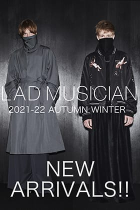Now in stock is new items from LAD MUSICIAN's 2021-22 AW collection.