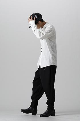 kujaku 2021-22AW monotone shirt styling