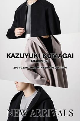 ATTACHMENTより2021-22秋冬コレクションの冬物が入荷!