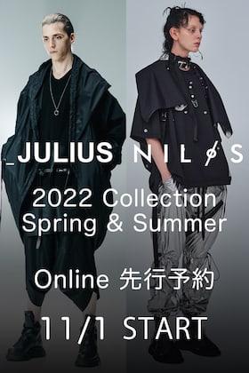 JULIUS & NILøS 2022SS(春夏)コレクション オンライン先行予約受付について。