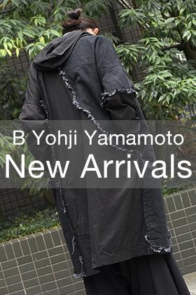New Brand B YOHJI YAMAMOTO 18-19AW 1st Delivery Start
