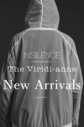 The Viridi-anne 20SS New Arrival!