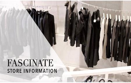 FASCINATE store info