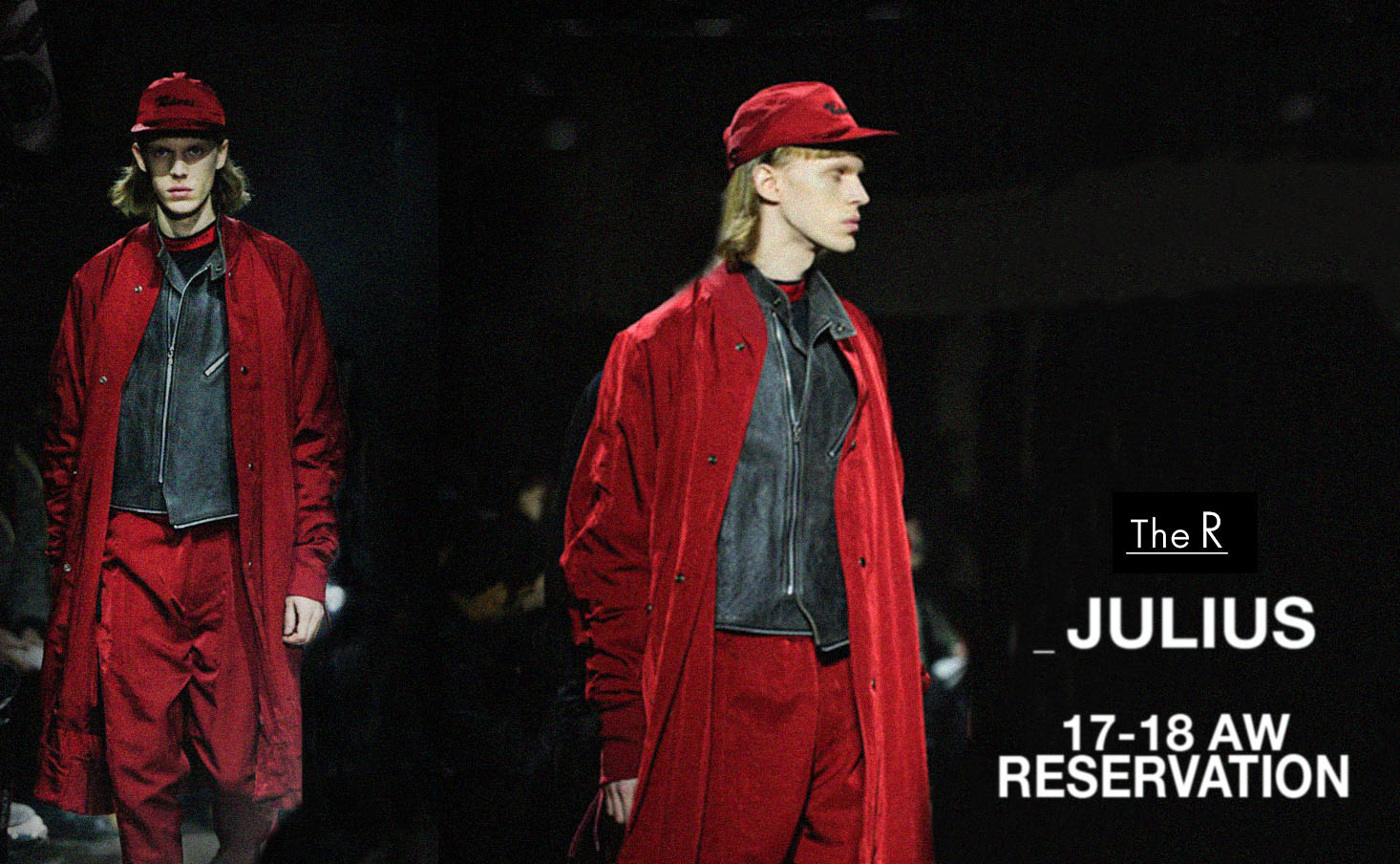 JULIUS17-18 Fall Winter Reservation